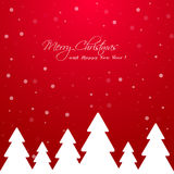 Merry Christmas and Happy New Year background. Royalty Free Stock Photography