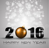 2016 Merry Christmas and Happy New Year Background Stock Images