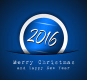 2016 Merry Christmas and Happy New Year Background. For Seasonal Greetings Cards, Parties Flyer, Dineer Event Invitations, Xmas Cards and sp on Stock Images