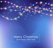 2016 Merry Christmas and Happy New Year Background. For Seasonal Greetings Cards, Parties Flyer, Dineer Event Invitations, Xmas Cards and sp on Stock Photography