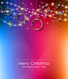 2016 Merry Christmas and Happy New Year Background. For Seasonal Greetings Cards, Parties Flyer, Dineer Event Invitations, Xmas Cards and sp on Stock Photos