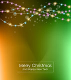 2016 Merry Christmas and Happy New Year Background. For Seasonal Greetings Cards, Parties Flyer, Dineer Event Invitations, Xmas Cards and sp on Stock Photo