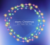 2016 Merry Christmas and Happy New Year Background. For Seasonal Greetings Cards, Parties Flyer, Dineer Event Invitations, Xmas Cards and sp on Royalty Free Stock Image