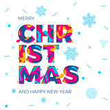 Merry Christmas Happy New Year greeting card snowflakes background vector paper carving. Merry Christmas and Happy New Year background with snowflakes pattern vector illustration