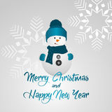 Merry Christmas and Happy New Year Background, vector Royalty Free Stock Photos
