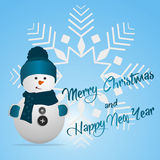 Merry Christmas and Happy New Year Background, vector Stock Photos