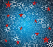 Merry Christmas and Happy New Year Background, vector Royalty Free Stock Photography