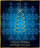 2017 Merry Christmas and Happy New Year background. Merry Christmas and Happy New Year background for your invitations, greetings cards Royalty Free Stock Photo