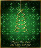 2017 Merry Christmas and Happy New Year background. Merry Christmas and Happy New Year background for your invitations, greetings cards Stock Photo