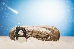 Merry Christmas and Happy New Year beautiful background. Decorat Stock Photo