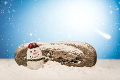 Merry Christmas and Happy New Year beautiful background. Decorat Stock Images
