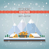 Merry Christmas and a happy new year Royalty Free Stock Photo