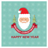 Merry christmas/happy new year card or background Royalty Free Stock Photography