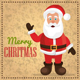 Merry christmas and happy new year card design Royalty Free Stock Photography