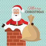 Merry christmas and happy new year card design. Vector illustration eps 1o Royalty Free Stock Photos