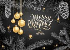 Merry Christmas decoration 2019 vector illustration
