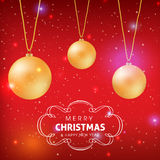 Merry Christmas and Happy New year celebration. Design Vector Illustration