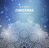 Merry Christmas and Happy New year celebration. Design Stock Photography