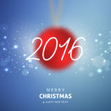 Merry Christmas and Happy New year celebration. Design Stock Images