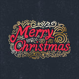 Merry Christmas and Happy New year celebration. Design Royalty Free Stock Photo