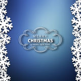 Merry Christmas and Happy New year celebration. Design Stock Illustration