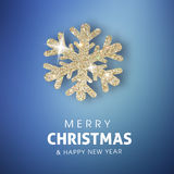 Merry Christmas and Happy New year celebration design.  Stock Photos