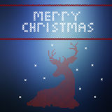 Merry Christmas and Happy New year celebration design.  Stock Images