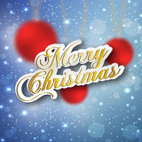 Merry Christmas and Happy New year celebration. Design Stock Image