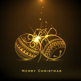 Merry Christmas and Happy New Year celebrations. Stock Image