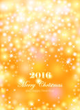 Merry Christmas and Happy New Year celebrations flyer, banner Stock Images