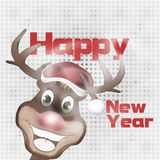 Merry Christmas and Happy New Year 2015. Creative Illustration Colored Image Royalty Free Stock Image