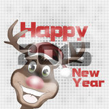 Merry Christmas and Happy New Year 2015 Stock Photography