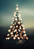 Merry Christmas and Happy New Year design. Blurry vector background. Eps 10. Stock Photography