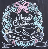 Merry Christmas Happy New Year Royalty Free Stock Images