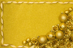 Merry Christmas and Happy New Year festive background Stock Photo
