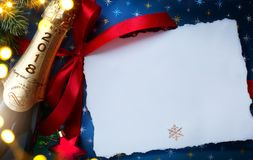 2018; Merry Christmas and happy New year; festive party background royalty free stock photos