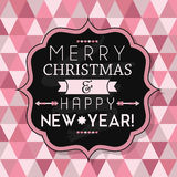 Merry Christmas & Happy New Year! Royalty Free Stock Images