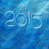 2015 Merry Christmas and Happy New Year Flyers, covers, posters and pages. Stock Images