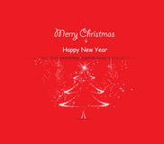 Merry christmas and happy new year greeting card. Merry christmas background and greeting card design Vector Illustration