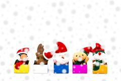 Merry christmas and happy new year 2018. Stock Images
