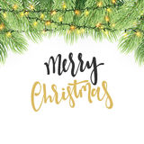 Merry Christmas and Happy New Year. Royalty Free Stock Images