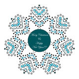 Merry Christmas and Happy New Year Greeting Card. Winter concept. Xmas celebration theme Stock Image