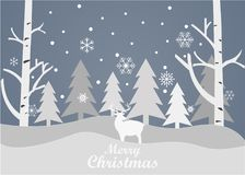 Merry Christmas and Happy New Year on a grey background. Merry Christmas and Happy New Year 2018 on a grey background Royalty Free Stock Image