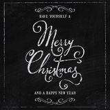 Merry Christmas Happy New Year Royalty Free Stock Photography