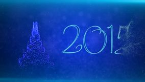 Merry Christmas and Happy New Year royalty free illustration