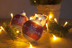 Merry Christmas & Happy New Year!. Merry Christmas & Happy New Year. Holiday Decorations Royalty Free Stock Photography