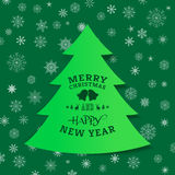 Merry Christmas. Happy new year, Holidays, Vintage Royalty Free Stock Photo