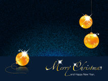 Merry Christmas-Happy New Year illustration Stock Photography