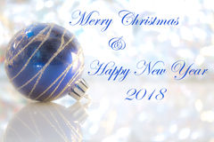 Merry christmas & happy new year Stock Images