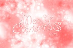 2018 Merry Christmas and Happy New Year. royalty free stock images